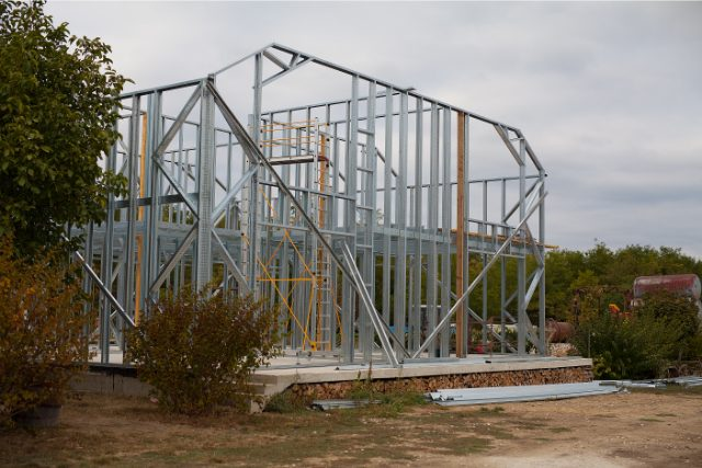 Steel framing project